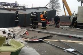 Начата проверка по факту гибели водителя при обрушении моста под Петербургом