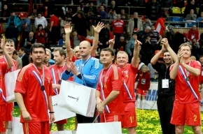 Россия вышла в финал «Кубка Легенд»