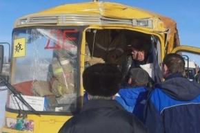 Школьный автобус разбился в Тамбовской области