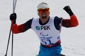 Биатлонист Петушков выиграл для России первое золото Паралимпиады
