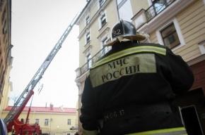 На Заповедной улице тушили пожар по повышенному номеру сложности
