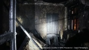 В пожаре на улице Бабушкина погибли два человека : Фоторепортаж