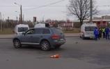 Фоторепортаж: «В массовом ДТП с автобусом на Пискаревском пострадали три человека »