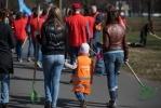 На субботник 26 апреля 2014 в Петербурге вышло 246 тысяч человек  : Фоторепортаж