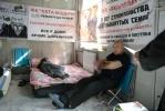 Голодающие дольщики «Охта-модерн» : Фоторепортаж