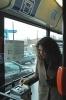В  Петербурге начали работу троллейбусы с автоматами по продаже билетов : Фоторепортаж