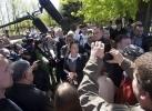 Сторонники федерализации, Луганск: Фоторепортаж