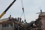 В Омской области в жилом доме произошел взрыв газа. : Фоторепортаж