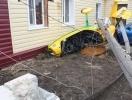 Фоторепортаж: «Под Липецком вертолет вице-мэра упал на частный дом»