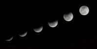 Лунное затмение : Фоторепортаж