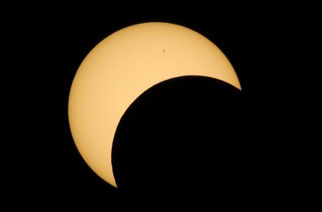 Кольцеобразное солнечное затмение: Фото