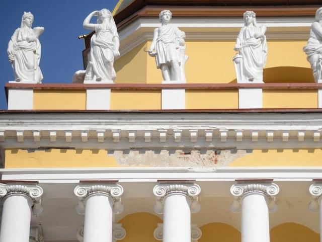 Реставрация Адмиралтейства: Фото