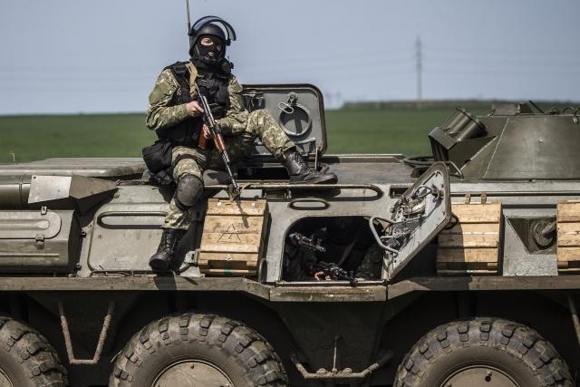 Операция в Славянске: Фото