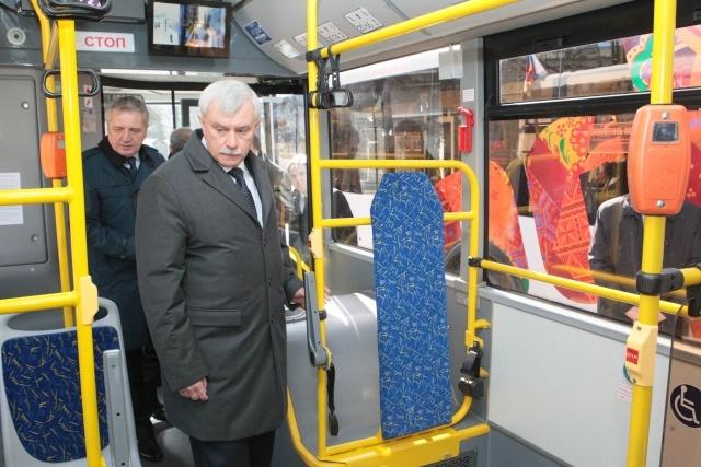 Олимпийские автобусы выйдут на петербургские маршруты : Фото