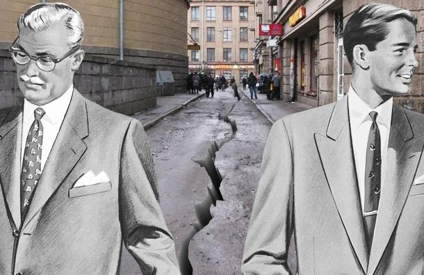 В Петербурге обнаружен «ничей» проезд