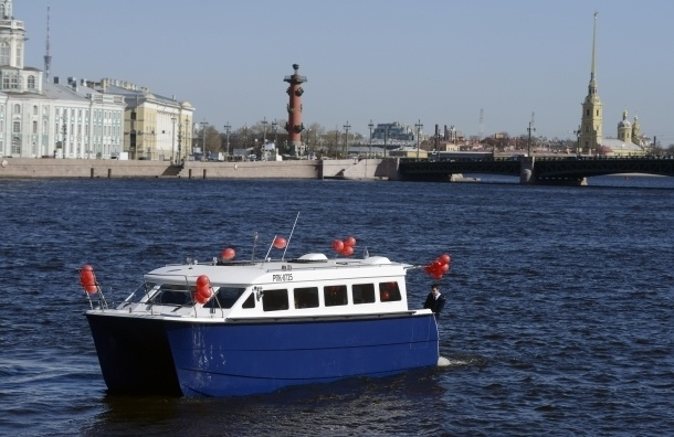 В Петербурге начнет работать псковский 30-местный аквабус