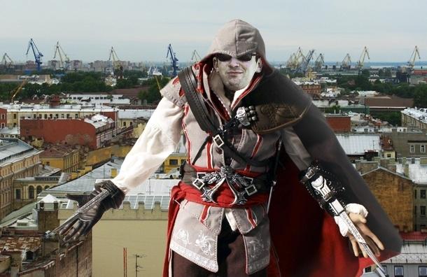 Петербургский Плюмбум скачет по крышам