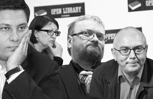 В «Открытой библиотеке» поспорят Галина Тимченко и Сергей Минаев, Виталий Милонов и Павел Лобков