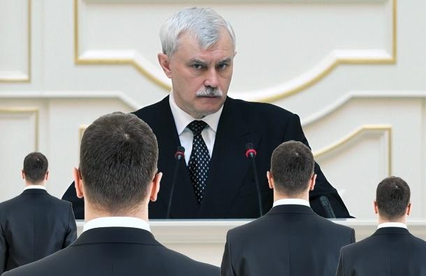 Полтавченко в парламенте: Петербург экономит и обороняется