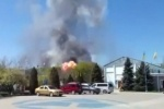 В Краматорске подбили вертолет украинских военных