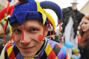 В Петербурге пройдет первоапрельский парад клоунов с осликом впереди