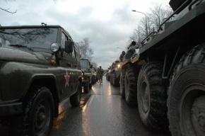 Первая репетиция парада Победы в понедельник пройдет в Петербурге
