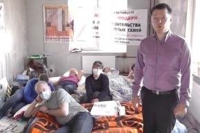 По итогам голодовки три дольщика ЖК «Охта-Модерн» госпитализированы