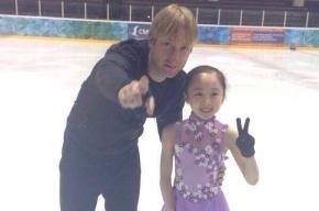 Плющенко впервые вышел на лед после операции на позвоночнике