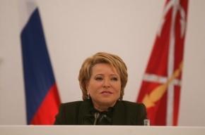 Матвиенко: После Женевы необходимости ввода войск на Украину не будет