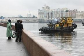 На Свердловской набережной в Неве утопился мужчина