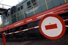 В Ленобласти два человека погибли в столкновении автомобиля с поездом