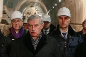Полтавченко: Станция метро «Новокрестовская» будет сдана к 2017 году