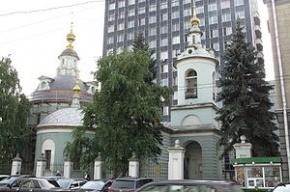 В московском храме нашли бомбу времен ВОВ