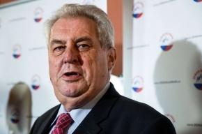 Президент Чехии попросил НАТО провести «акцию устрашения» России