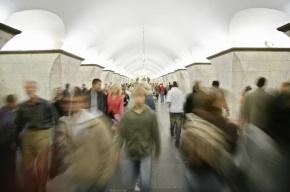В московском метро поезд сбил студента зеркалом заднего вида