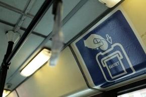 В  Петербурге начали работу троллейбусы с автоматами по продаже билетов