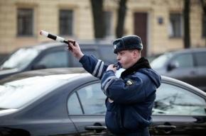 В Приморском районе полиция со стрельбой задержала водителя после массового ДТП