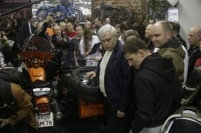 Полтавченко обещал байкерам открыть музей мотоциклов и уменьшить транспортный налог