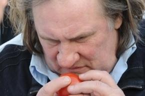 Жерар Депардье откроет фирменные закусочные в Петербурге и в Москве