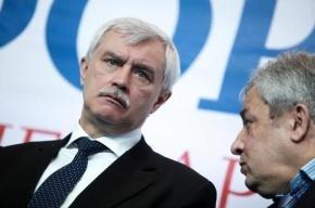 Полтавченко заработал в 2013 году 4,9 млн рублей, а Кичеджи - 65 млн
