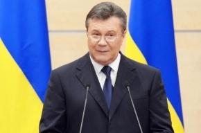 Янукович: Украина стоит на пороге гражданской войны