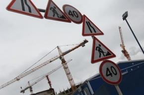 Cиние заборы на стройках в Петербурге заменят на прозрачные конструкции