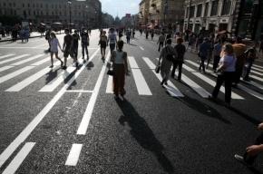 Участок Невского будет пешеходным каждые выходные