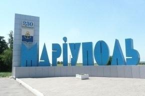13 человек ранено при попытке захвата военной части в Мариуполе
