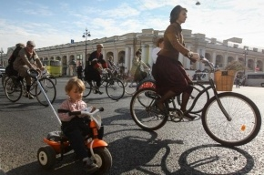 В Петербурге на время велопробега будет ограничено движение