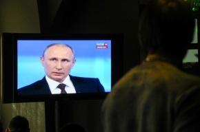 Опрос: Каждый второй россиянин считает, что Путин вернул стране статус великой державы