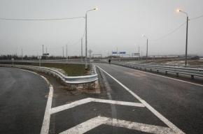 Северный участок КАД Петербурга расширят до шести полос в 2015 году