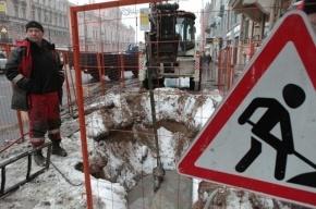 В Петербурге с понедельника ограничат движение на шести улицах