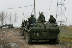 В Крым массово переправляются российские войска