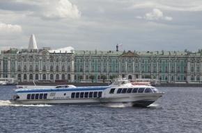 В Петербурге официально открыта навигация